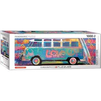 Eurographics Samba Pa' Ti - Love Bus VW Panorama Puzzel 1000 Stukjes
