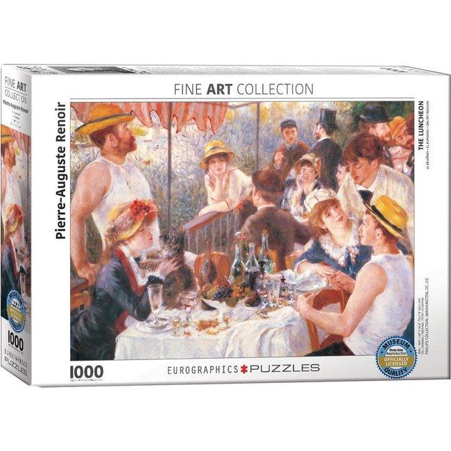 Eurographics The Luncheon - Renoir Puzzel 1000 Stukjes