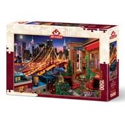 Art Puzzle Brooklyn By Terrace Puzzel 1500 Stukjes