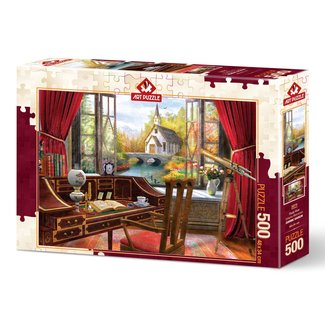 Art Puzzle Study View Puzzel 500 Stukjes