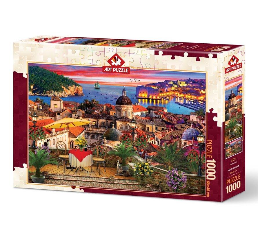 Dubrovnik Puzzel 1000 Stukjes