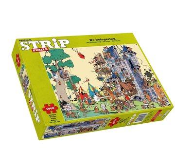 Jumbo Peter de Smet - De Belegering Strip Puzzel 1000 Stukjes
