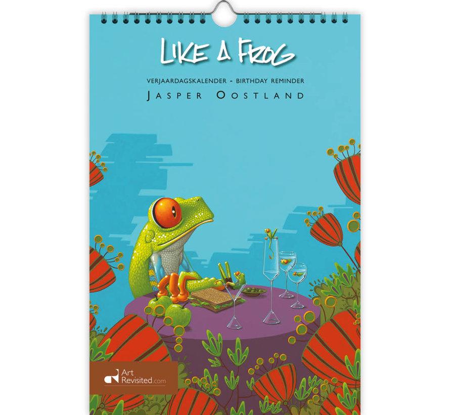 Like a Frog - Jasper Oostland Verjaardagskalender
