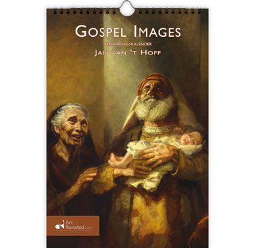 Art Revisited Gospel Images - Jan van 't Hoff Birthday Calendar