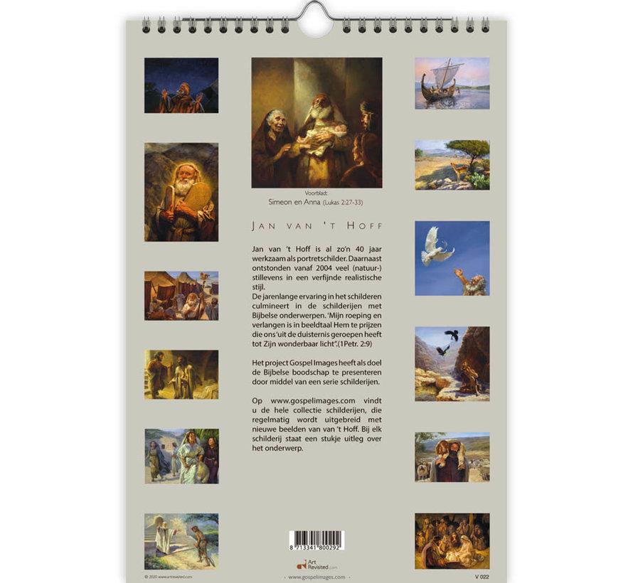 Gospel Images - Jan van 't Hoff Verjaardagskalender