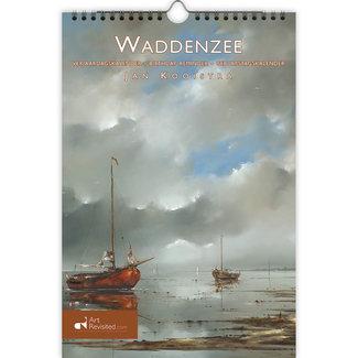 Art Revisited Waddenzee - Jan Kooistra Verjaardagskalender