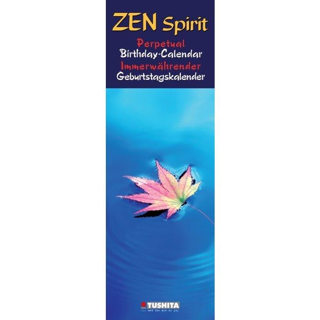 Tushita Zen Spirit Verjaardagskalender