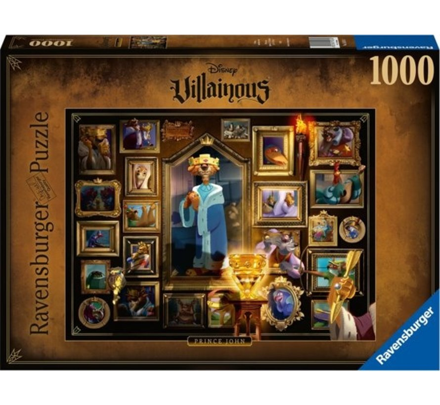 Disney Villainous - King John Puzzel 1000 Stukjes
