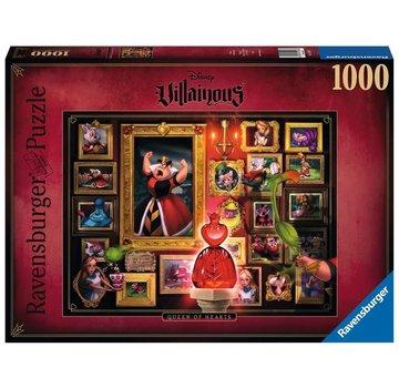 Ravensburger Disney Villainous - Queen Of Hearts Puzzel 1000 Stukjes