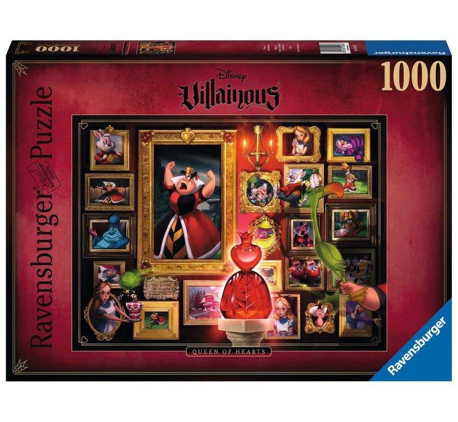 Disney Villainous - Queen Of Hearts Puzzel 1000 Stukjes