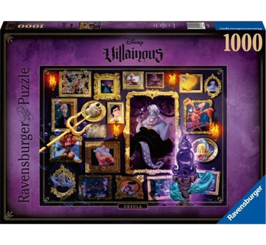 Disney Villainous - Ursula Puzzel 1000 Stukjes
