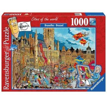 Ravensburger Fleroux Brussels 1000 Puzzle Pieces