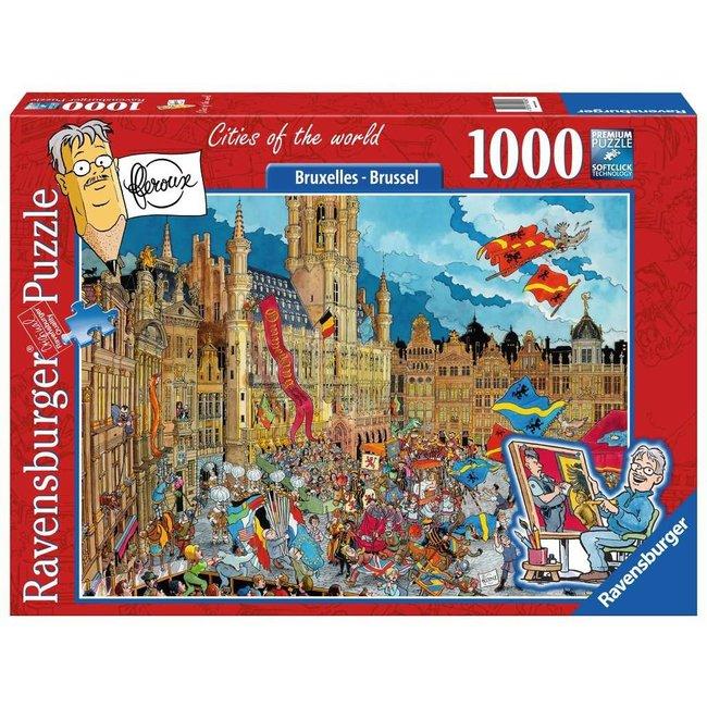 Ravensburger Fleroux Brüssel 1000 Puzzle Pieces