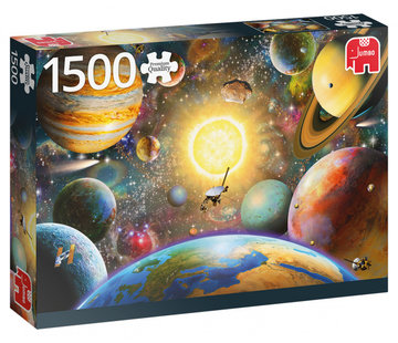 Jumbo Floating In Outer Space Puzzle 1500 Pieces