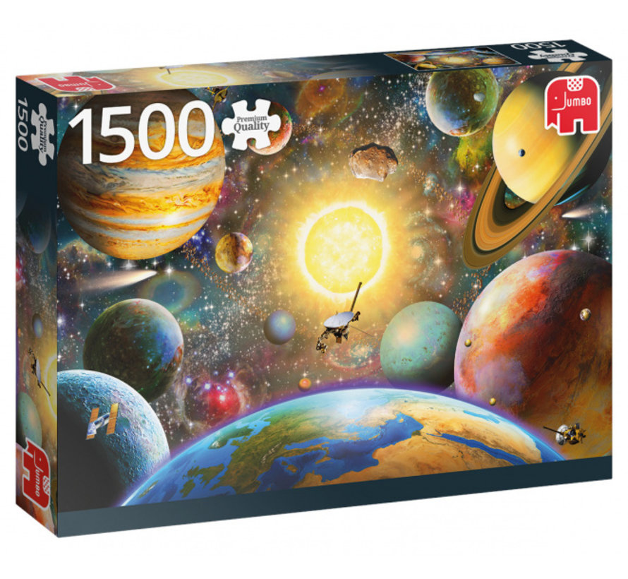 Floating In Outer Space Puzzel 1500 Stukjes