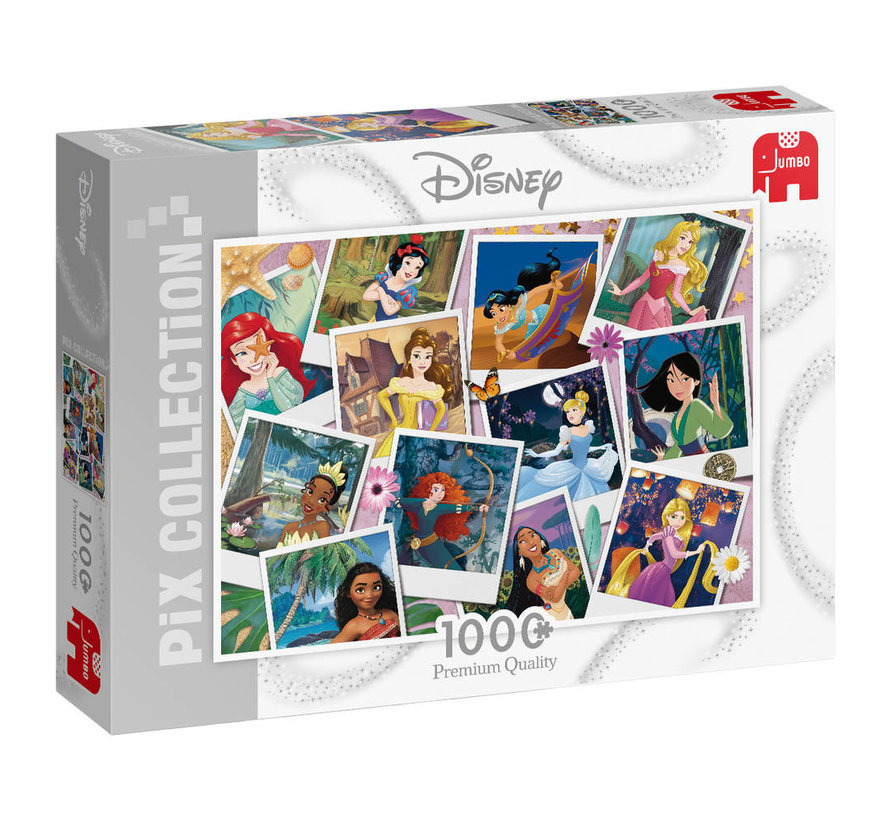Disney Pics Collection Princess Selfies Puzzel 1000 stukjes