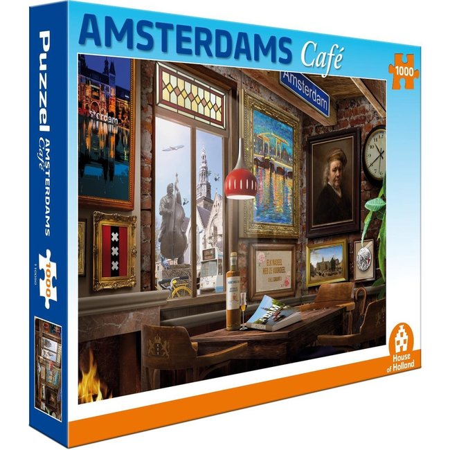 Amsterdam Café Puzzle 1000 Stück