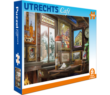 House of Holland Utrechts Café Puzzel 1000 Stukjes