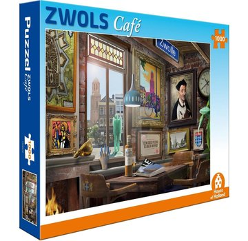 House of Holland Zwols Café Puzzel 1000 Stukjes