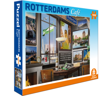 House of Holland Rotterdams Café Puzzel 1000 Stukjes
