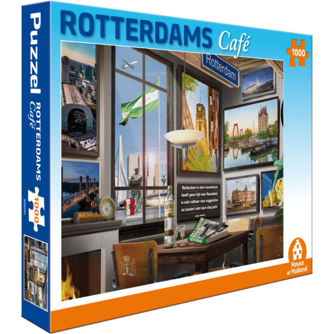 House of Holland Rotterdam Café Puzzle 1000 Stück