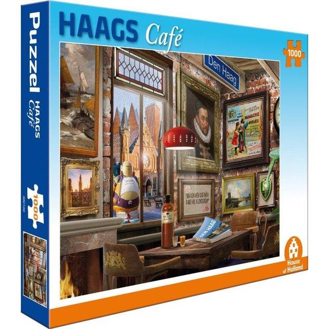 House of Holland Hague Café Puzzle 1000 Stück