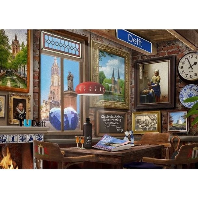 House of Holland Delft Café Puzzle 1000 Stück