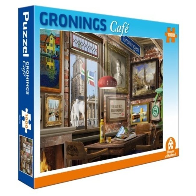 House of Holland Groningen Café Puzzle 1000 Stück