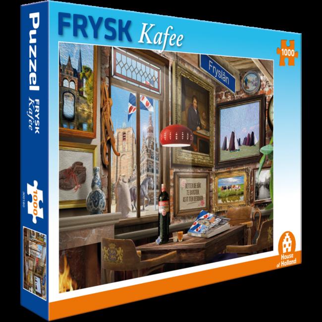 House of Holland Frysk Café Puzzle 1000 Stück