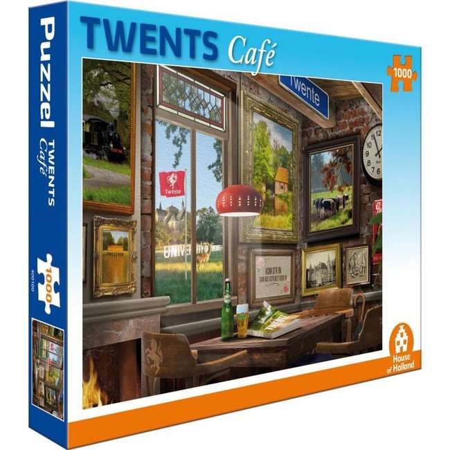 House of Holland Twente Café Puzzle 1000 Stück