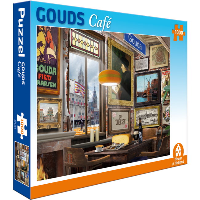 House of Holland Marigold Café Puzzle 1000 Stück