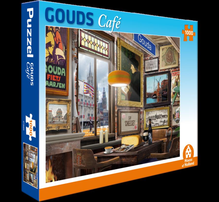 Gouds Café Puzzel 1000 Stukjes