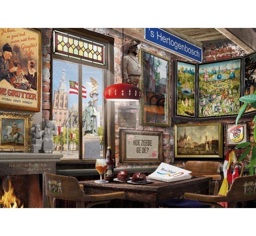 Bossch Café Puzzel 1000 Stukjes