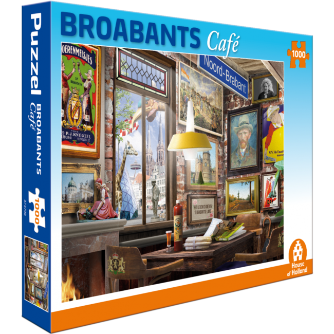 Broabants Café Puzzle 1000 Stück