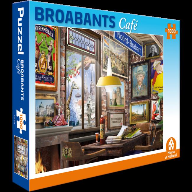 House of Holland Broabants Café Puzzel 1000 Stukjes