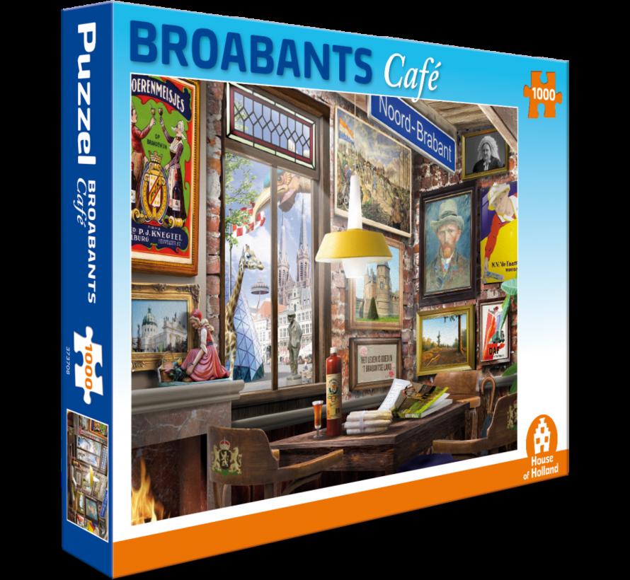 Broabants Café Puzzel 1000 Stukjes