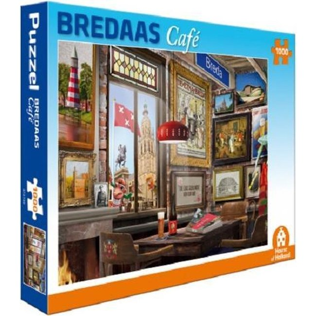 Bredaas Café Puzzle 1000 Stück