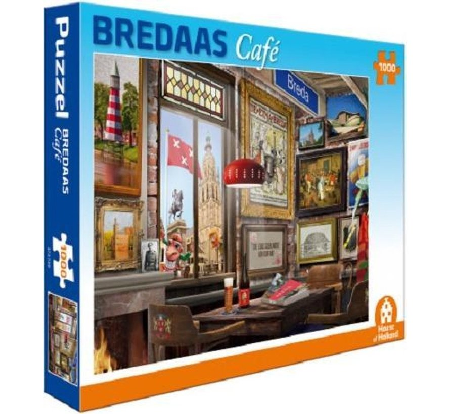 Bredaas Café Puzzel 1000 Stukjes