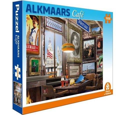 House of Holland Alkmaars Café Puzzel 1000 Stukjes