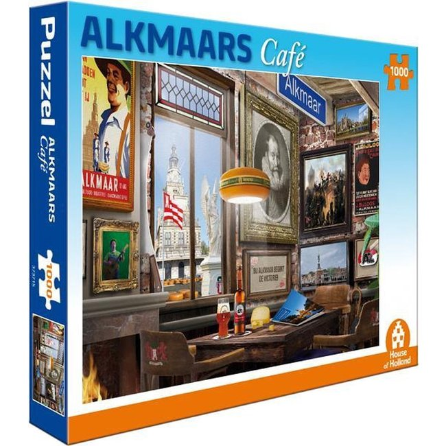 Alkmaar Café Puzzle 1000 Stück