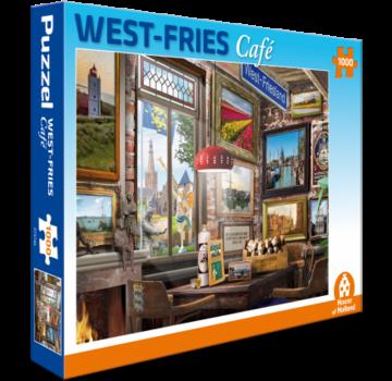 House of Holland West Fries Café Puzzel 1000 Stukjes