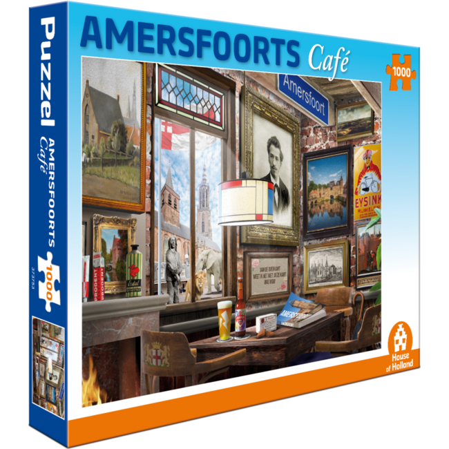Amersfoort Café Puzzle 1000 Stück