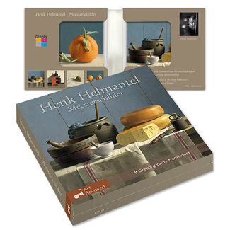 Art Revisited Kaartenmapje Henk Helmantel – Meesterschilder 8 Kaarten