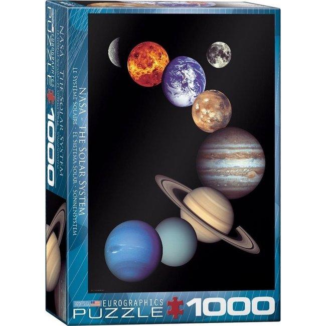 Eurographics Die NASA Solar System Puzzle 1000 Stück