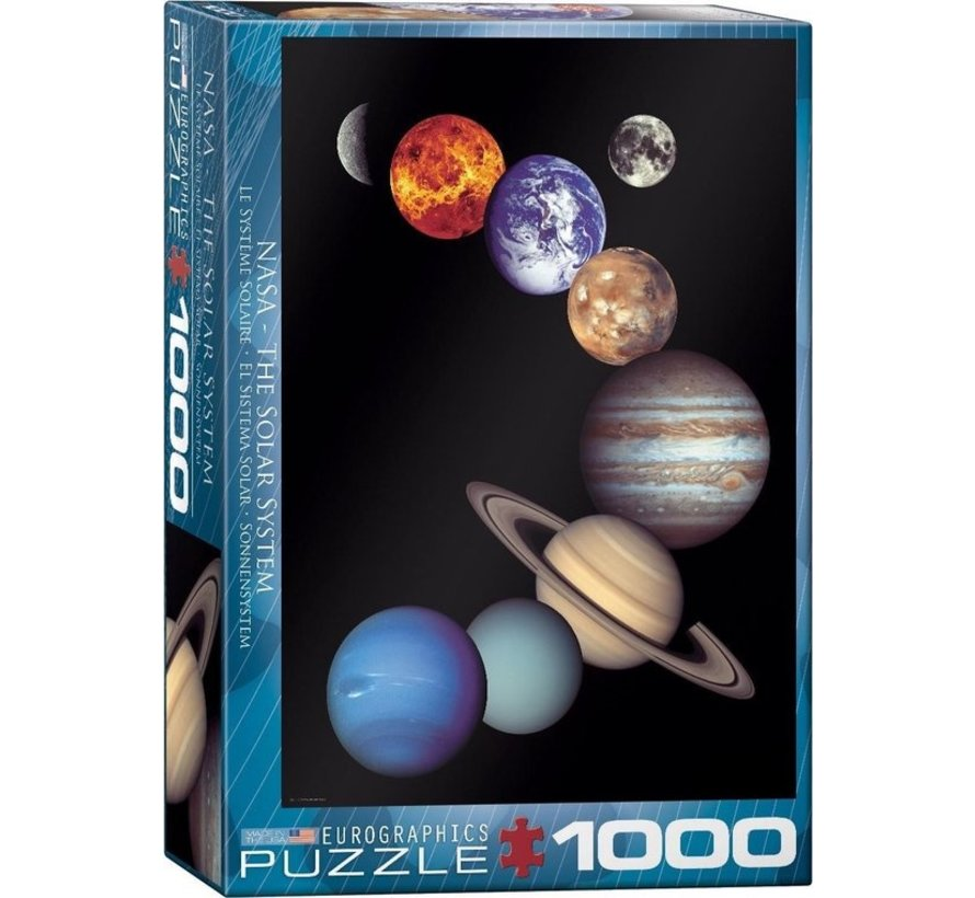 The NASA Solar System Puzzle 1000 Pieces