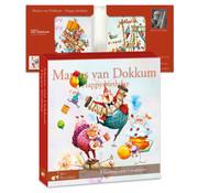 Art Revisited Kaartenmapje Marius van Dokkum – Happy birthday 8 Stuks