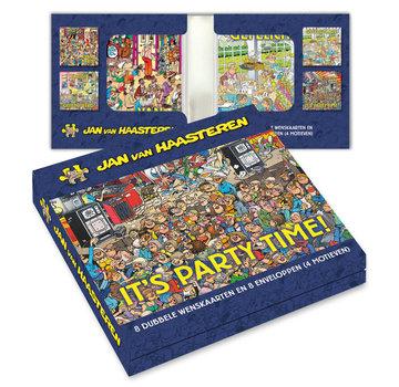 Comello Notecards Jan van Haasteren Party Time 8 Pieces