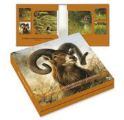 Comello Kaartenmapje Rien Poortvliet Natuur – Wild 8 Stuks