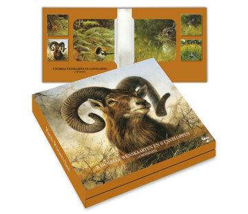 Comello Notecards Rien Poortvliet Nature - Wild 8 Pieces