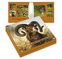 Kaartenmapje Rien Poortvliet Natuur – Wild 8 Stuks